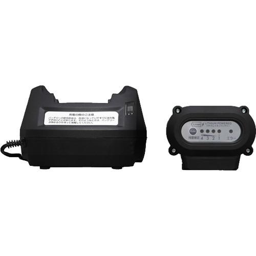 タンク式高圧洗浄機充電タイプ用 別売バッテリー ブラック(1台)