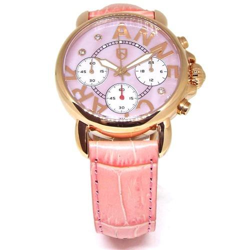 アンクラーク 腕時計 3Pキューブジルコニアクロノグラフ AU1033-17PG(1本入)