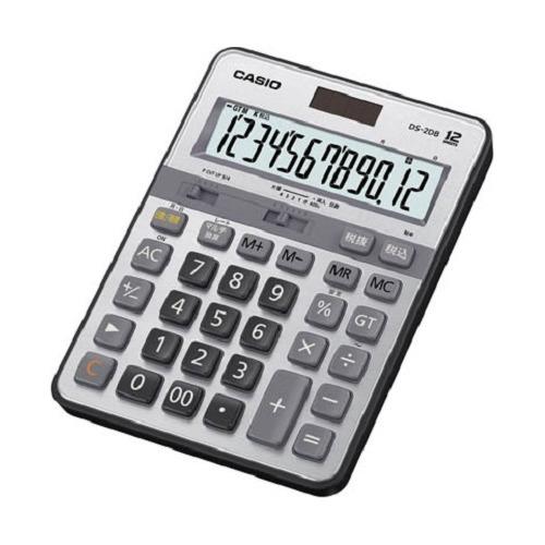 カシオ 電卓 DS-2DB(1台)