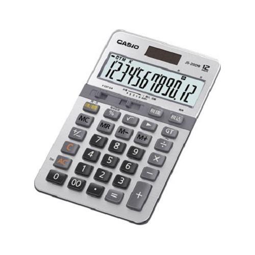 カシオ 電卓 JS-20DB-N(1台)