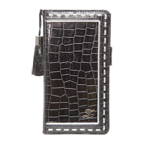 ゼヌス Xperia A プリマクロコダイアリー ブラック Z2100XAS(1コ入)