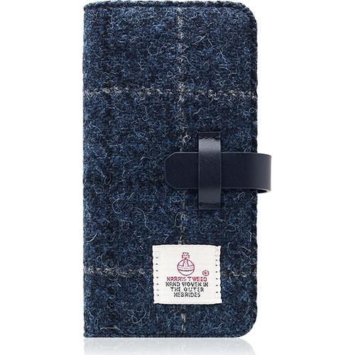 SLGデザイン iPhone7 ハリスツィードダイアリー ネイビー SD8123i7(1コ入)