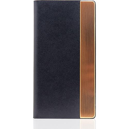 SLGデザイン iPhone7 カーフスキンメタルケース ネイビー SD8125i7(1コ入)