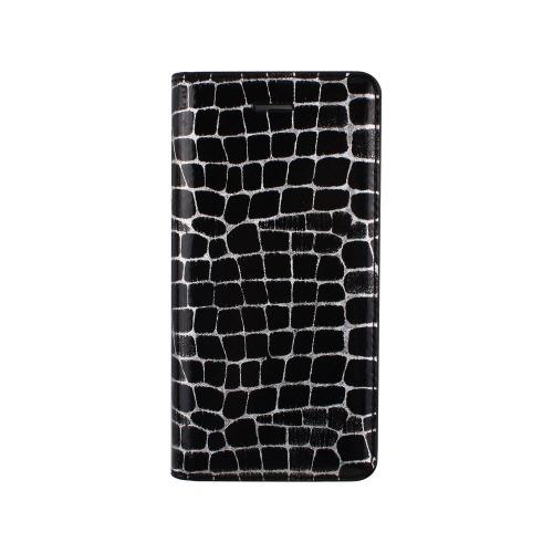 ゲイズ iPhone6s/6 ホログラムラインクロコダイアリー ブラック GZ6739iP6S(1コ入)