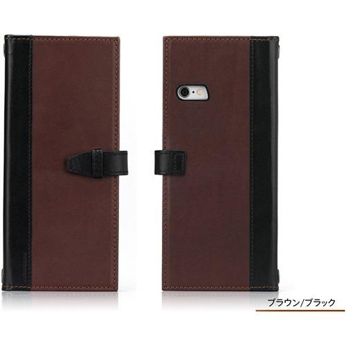 CompleteWallet 本革ケース iPhone6s PLus/6 PLus ブラウン/ブラック TUN-PH-000457(1コ入)