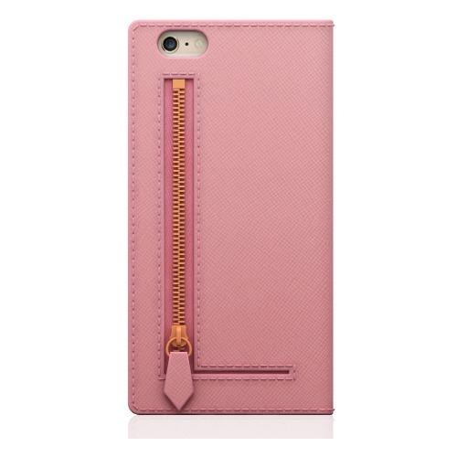 エスエルジーデザイン iPhone6s/6 サフィアーノジッパー ベビーピンク SD6657iP6S(1コ入)