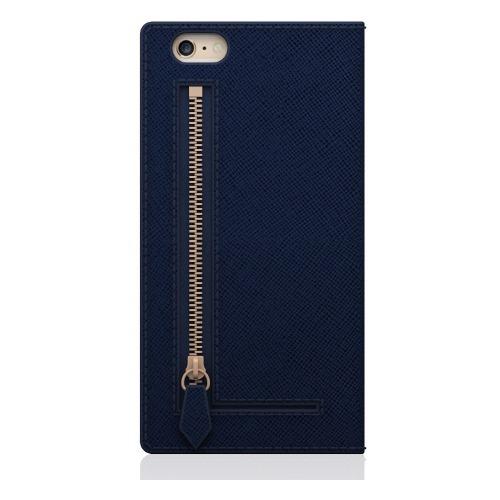 エスエルジーデザイン iPhone6s/6 サフィアーノジッパー ネイビー SD6660iP6S(1コ入)