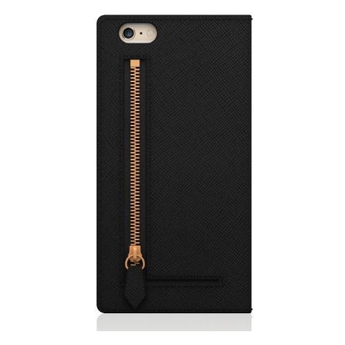 エスエルジーデザイン iPhone6s/6 サフィアーノジッパー ブラック SD6661iP6S(1コ入)
