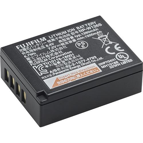 富士フイルム 純正充電式バッテリー NP-W126S(1コ入)