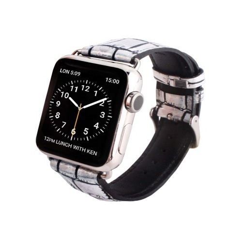 ゲイズ AppLe Watch用バンド38mm ホログラムクロコ GZ0474AW(1コ入)