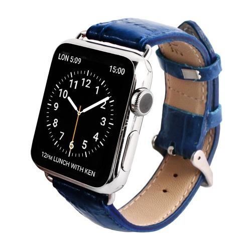 ゲイズ AppLe Watch用バンド38mm ブルークロコ GZ0482AW(1コ入)