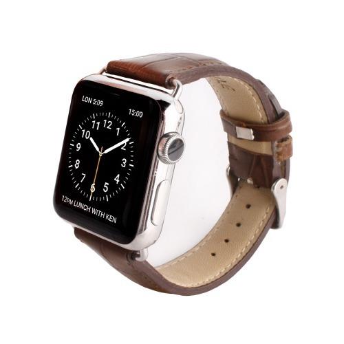 ゲイズ AppLe Watch用バンド42mm ブラウンクロコ GZ0485AW(1コ入)