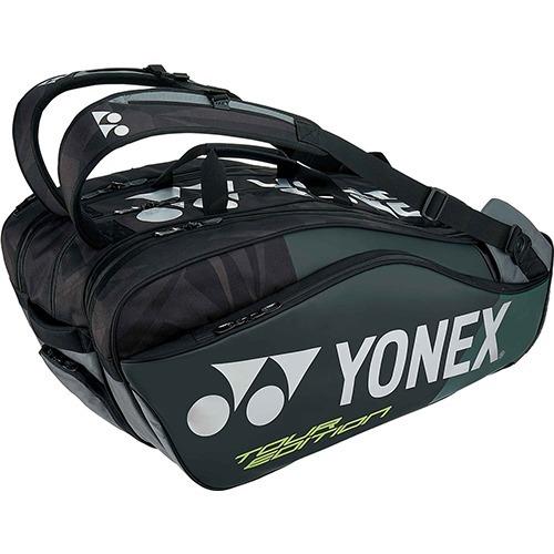 ヨネックス ラケットバッグ9 リュック付 テニス9本用 ブラック BAG1802N 007(1コ入)
