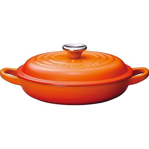 ル・クルーゼ ビュッフェキャセロール オレンジ 18cm 2132(1コ入)