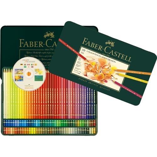 ファーバーカステル ポリクロモス 色鉛筆 120色(1セット)