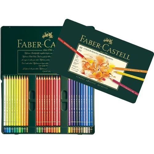 ファーバーカステル ポリクロモス 色鉛筆 60色(1セット)