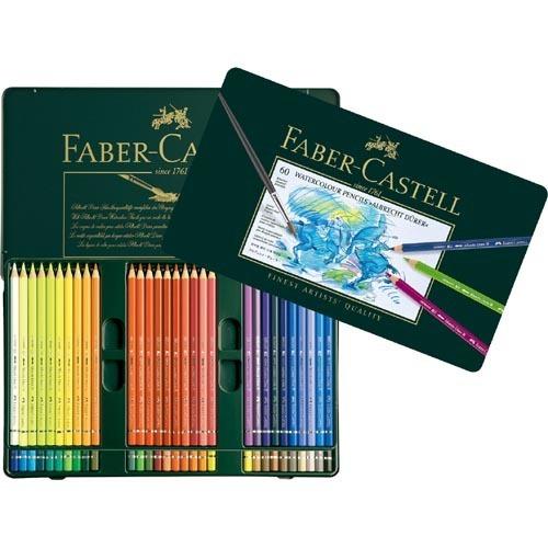 ファーバーカステル アルブレヒト デューラー 水彩色鉛筆 60色(1セット)
