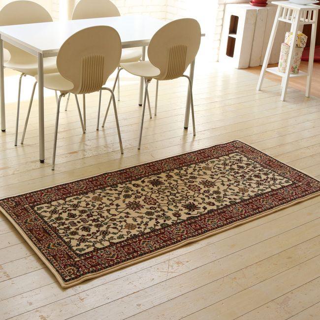 ウィルトン織りラグ 80×180【送料無料 カーペット 絨毯 じゅうたん ラグ】