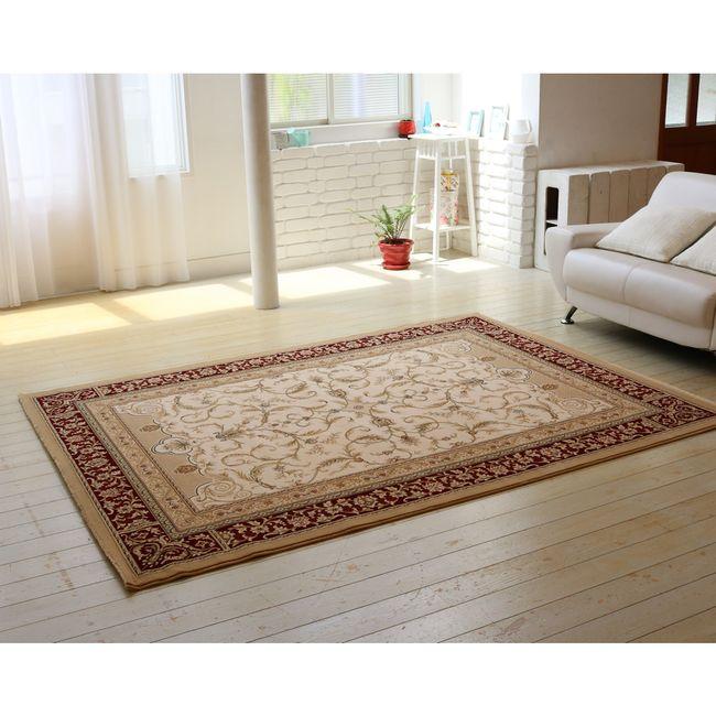 高密度ウィルトン織りラグ 160×230【送料無料 カーペット 絨毯 じゅうたん ラグ】