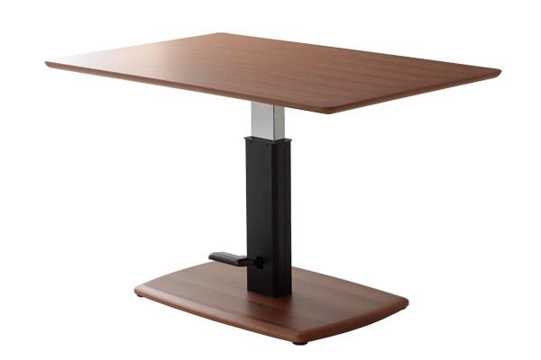 送料無料 テーブル 昇降式 無段階 高さ調節 作業台 アイロン台 タスラ WNA リフティングテーブル ダイニングテーブル リフトテーブル リビングテーブル 4人掛け 4人用 高級感 おしゃれ