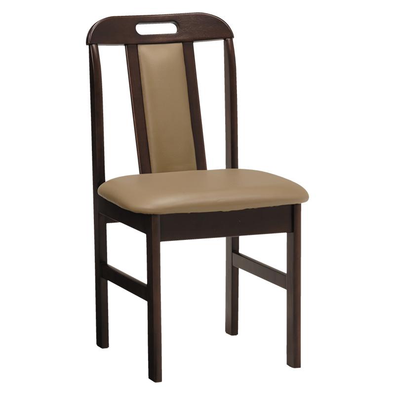 送料無料 ダイニングチェア 2脚セット ダイニングチェアー 2脚組 合成皮革 おしゃれ 木製 椅子 チェア イス チェアー ダークブラウン KC-7580DBR
