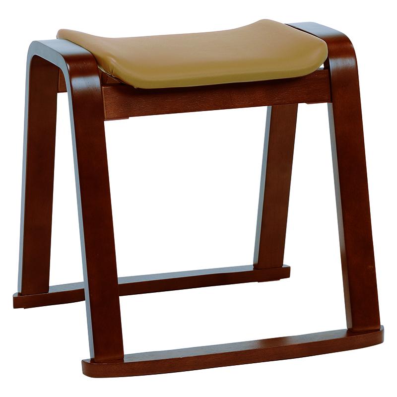 送料無料 2台セット スタッキングスツール スタッキングチェアー 椅子 木製 補助椅子 ちょい掛け用 荷物置き オットマン 玄関椅子 おしゃれ いす イス コンパクト 省スペース 積み重ね 腰掛椅子 背もたれなし 北欧 シンプル ダークブラウン 茶 VH-7931DBR