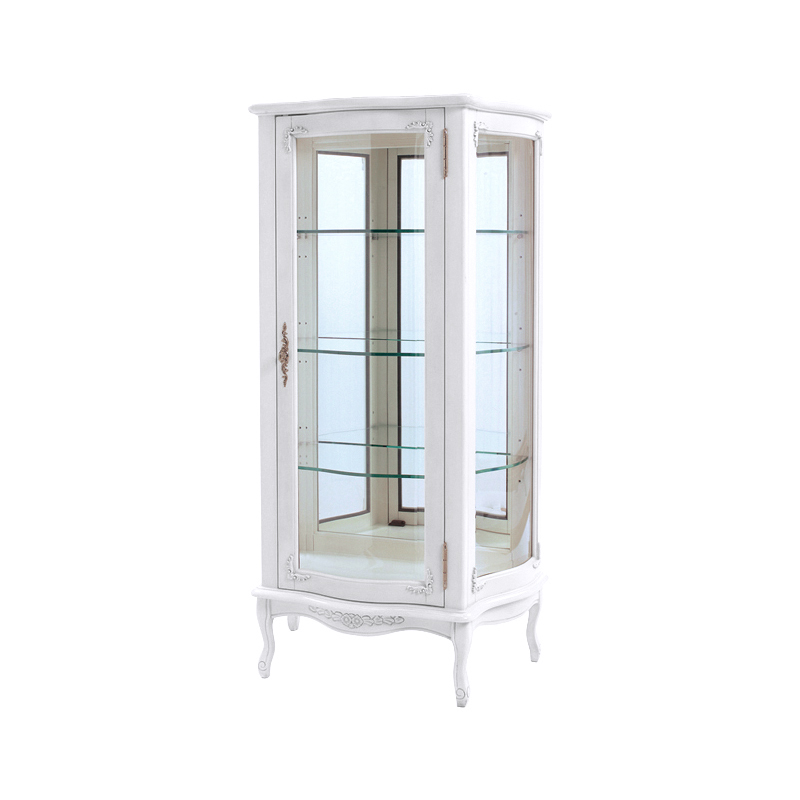 Syo Ei Glass Cabinet Antique Collection Rack Width 70 Depth 40
