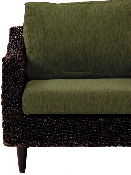 送料無料 グランツシリーズ クッションカバー(3人掛用) グリーン 緑 3P【RL-1430C-3C-GR】