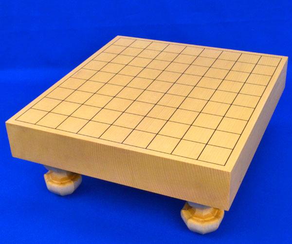 将棋盤 新かや2寸一枚板足付将棋盤
