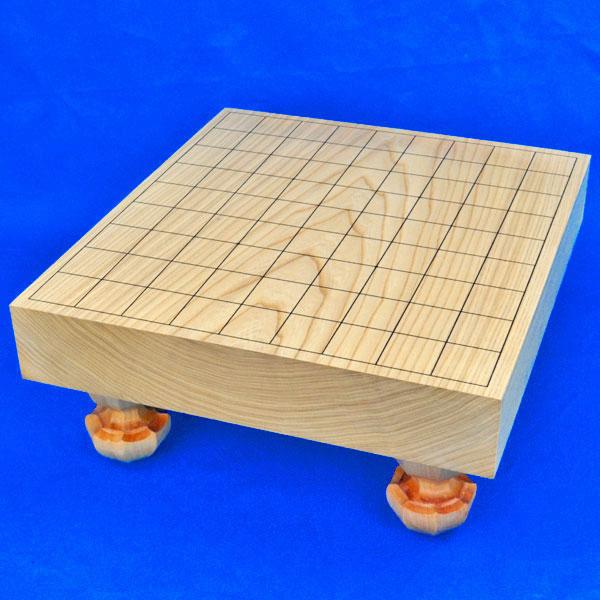 将棋盤 国産栓2寸一枚板足付将棋盤