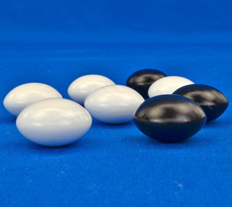 碁石 日向特製蛤碁石 48号 実用 (厚み13.7mm)【1点限定】