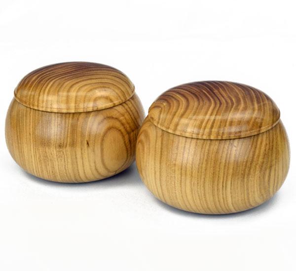 木製碁笥 針槐 特大