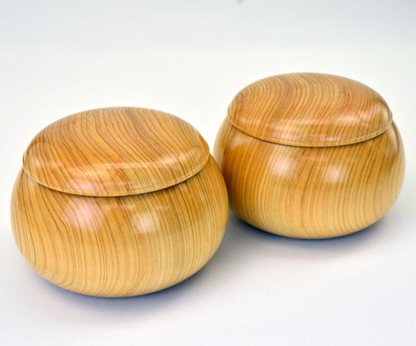 木製碁笥 桧 特大