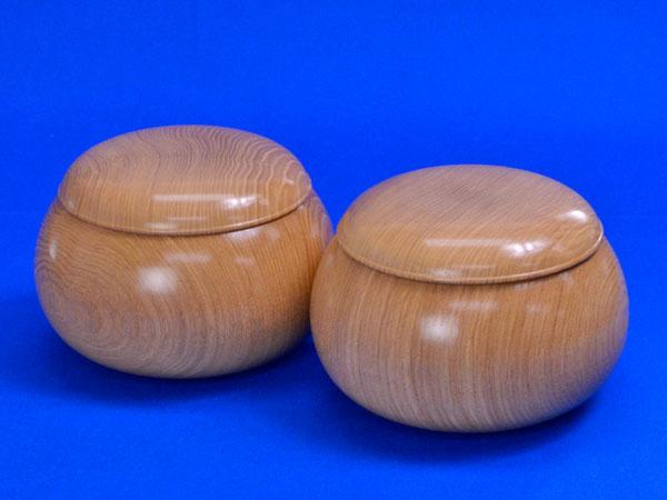 木製碁笥 塩地 特大