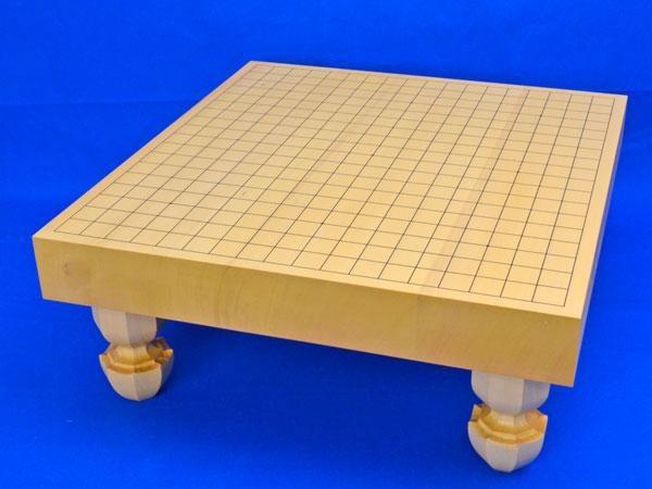 囲碁盤 ヒバ2寸ハギ足付碁盤