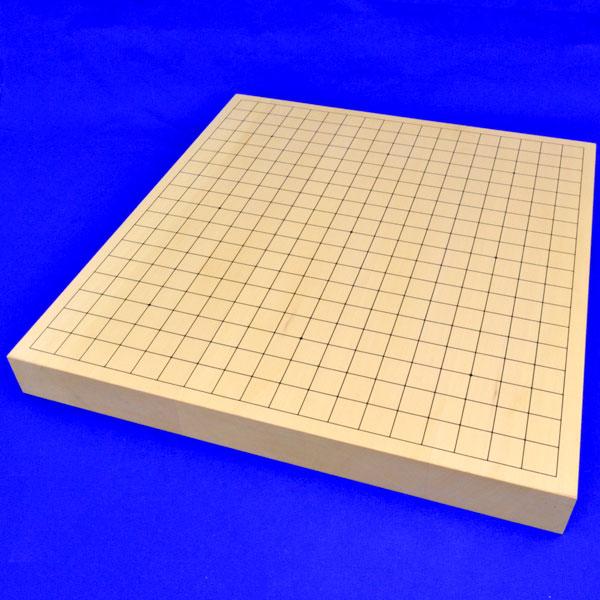 囲碁盤 ヒバ1寸5分ハギ卓上碁盤【特売品】