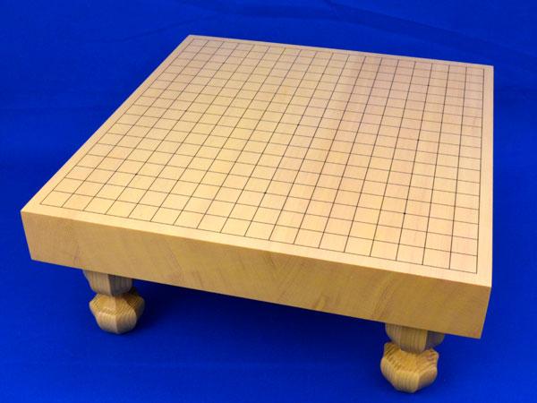 囲碁盤 新かや2寸ハギ足付碁盤