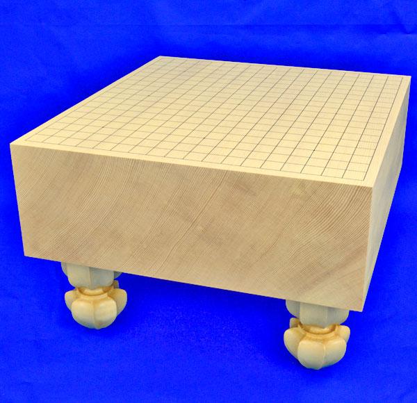 囲碁盤 新かや5寸足付碁盤