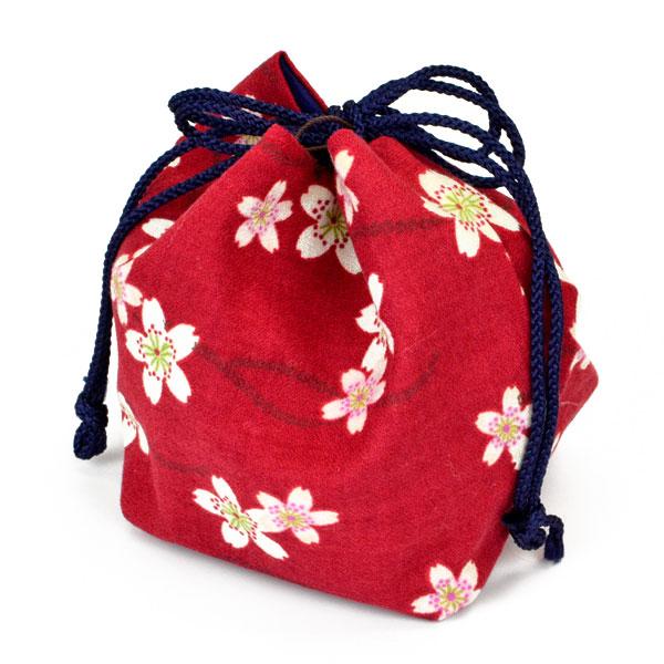 将棋駒袋 桜の舞