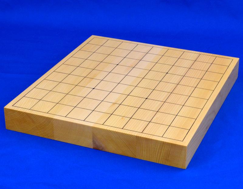 将棋盤 日本産本榧1寸5分ハギ卓上将棋盤【MS20】