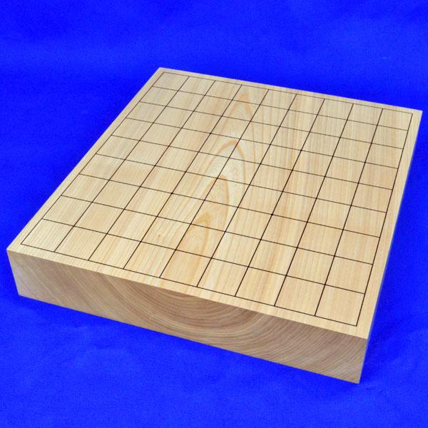 将棋盤 国産栓2寸一枚板卓上将棋盤