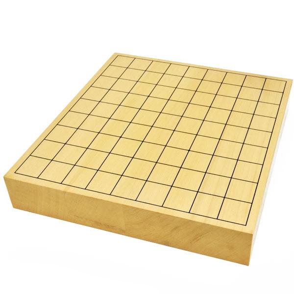 将棋盤 ヒバ2寸ハギ卓上将棋盤