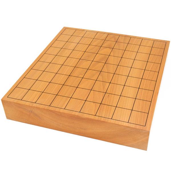 将棋盤 本桂2寸一枚板卓上将棋盤