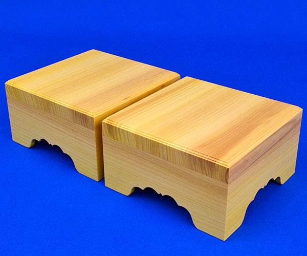 将棋駒台 卓上将棋盤用駒台 かや3寸 棋楽