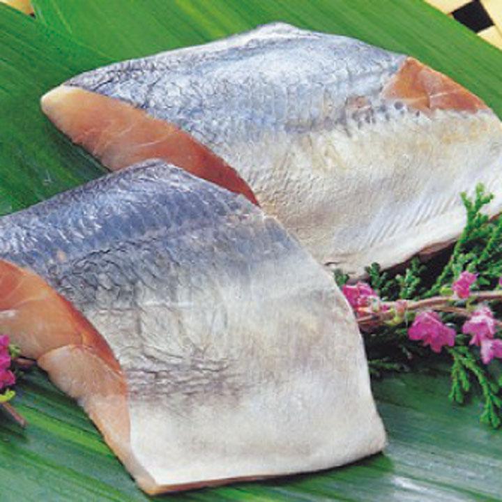 交洋)アジ切身(骨無) 約80g×5切(冷凍食品 鯵 あじ 切り身  骨なし 骨抜 骨取)