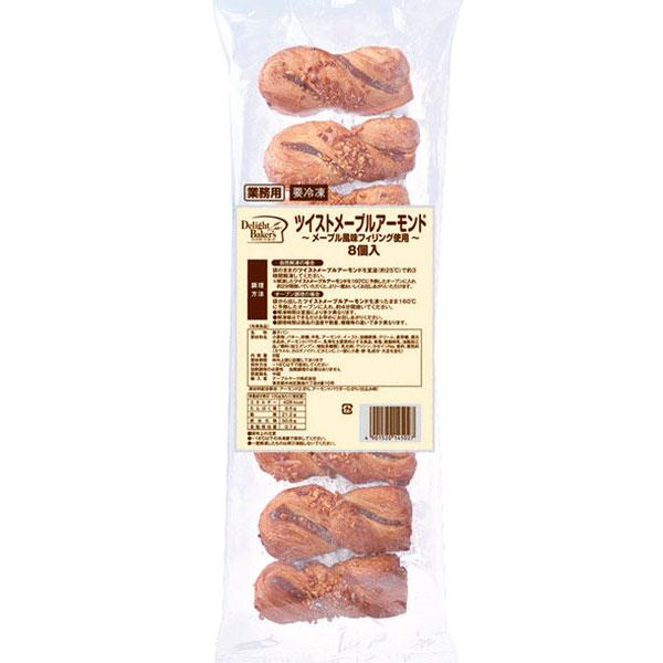 テーブルマーク)ツイストメープルアーモンド 22g×8個(デニッシュ パン 朝食 ホテル バイキング おやつ)