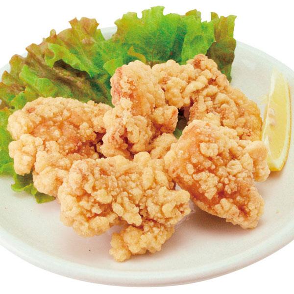 シャチホウ)ジューシー鶏もも竜田揚げ 1kg(約35~40個入)(からあげ 唐揚 カラアゲ 鳥から 揚物)