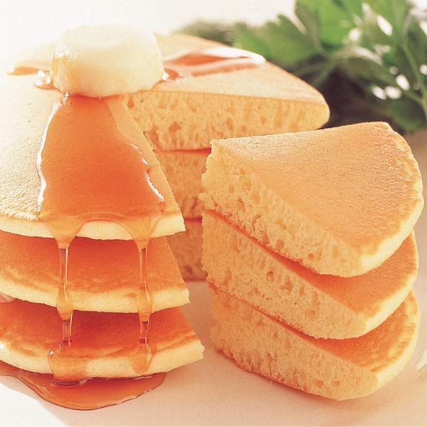 マリンフード)ジャンボホットケーキ 2枚入(140g)(冷凍食品 人気商品 スナック おやつ 軽食 業務用食材 冷凍 洋菓子 ケーキ)
