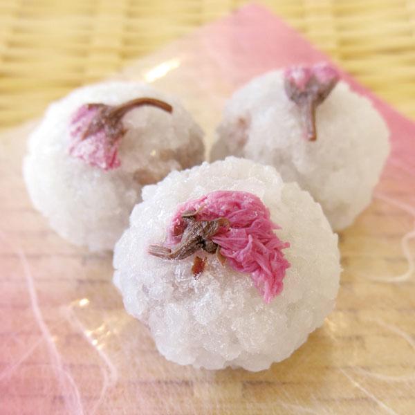 GFC)桜花おはぎ 23g×15個 <2月中-4月>(冷凍食品 甘味 和菓子)