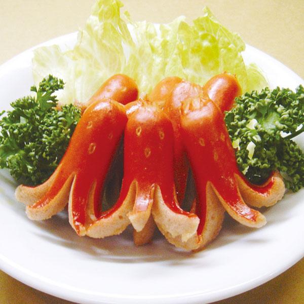 マルハニチロ)タコちゃんウインナー 500g(冷凍食品 タコ ウインナー 洋風調理 洋食 お弁当 肉料理 2018年新商品 洋食一品)